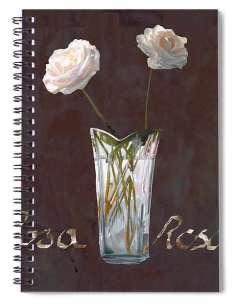 Rosa Rosae Spiral Notebook