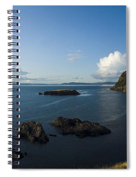 Rosario Strait Near Anacortes Spiral Notebook