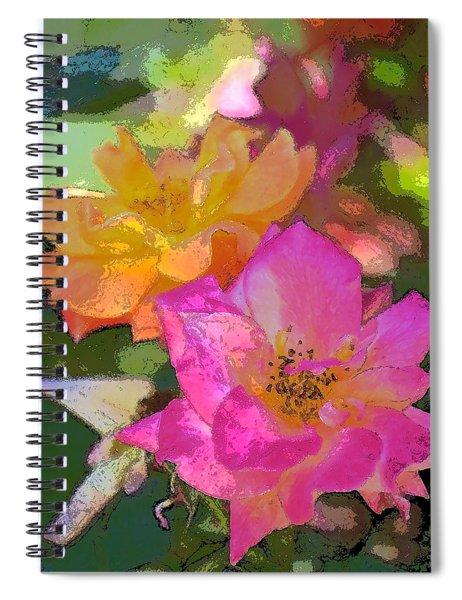 Rose 114 Spiral Notebook