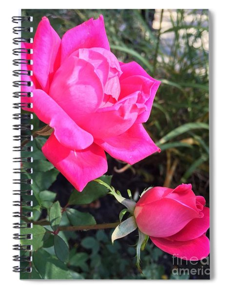 Rose Duet Spiral Notebook