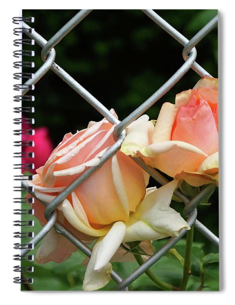 Rose Fence Spiral Notebook