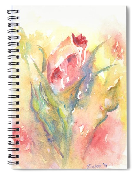 Rose Garden One Spiral Notebook