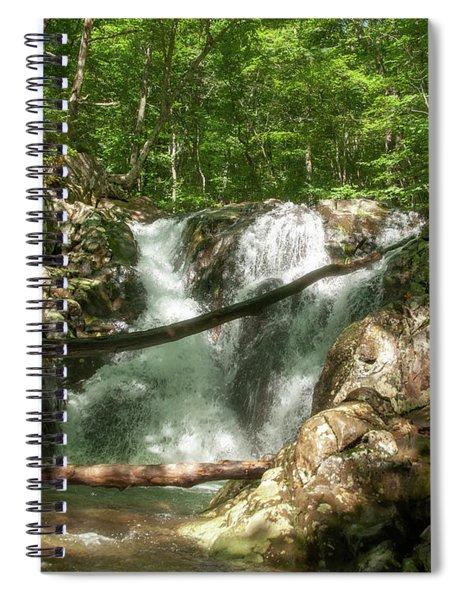 Rose River Falls 2 Spiral Notebook