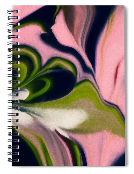 Rose With No Thorns Spiral Notebook