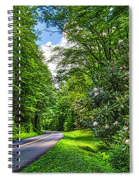 Rosebay Heaven Spiral Notebook