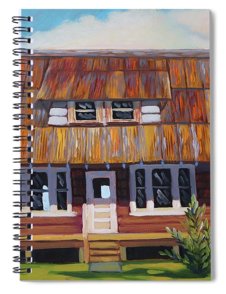 Roseberry House Spiral Notebook