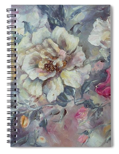 Roses From A Friend Spiral Notebook
