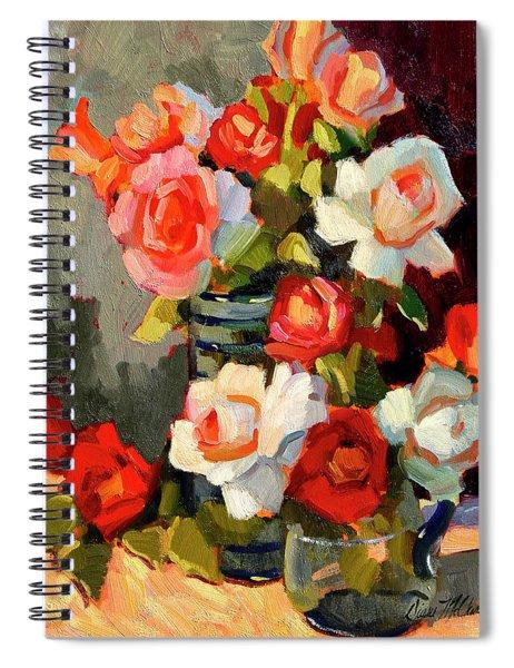 Roses From My Garden Spiral Notebook