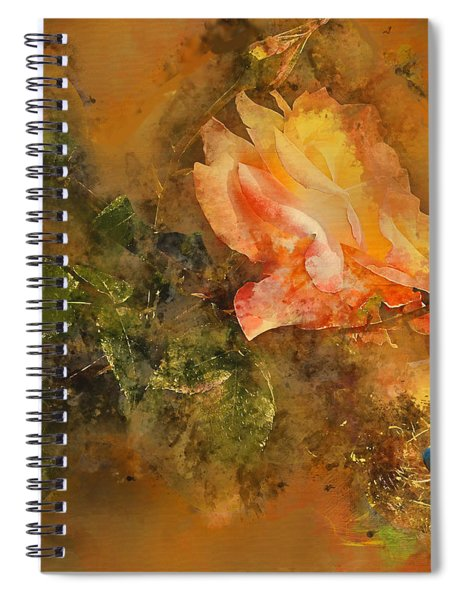 Guarded Robin Blue Wc Spiral Notebook