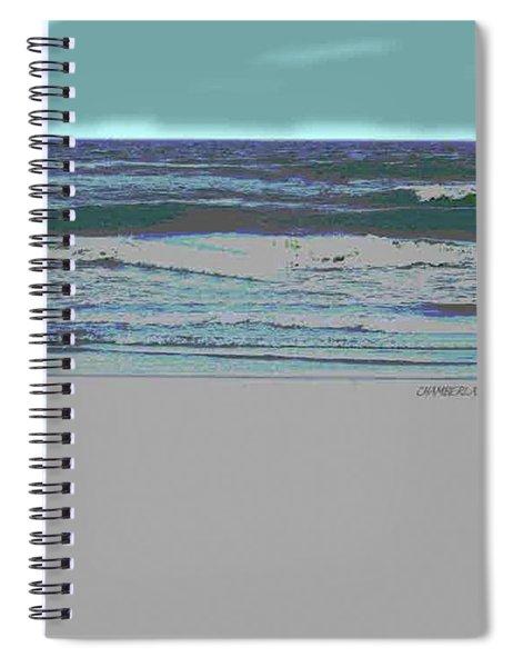 Rosie On The Beach Spiral Notebook