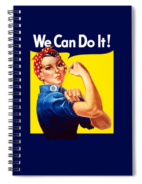 Rosie The Rivetor Spiral Notebook
