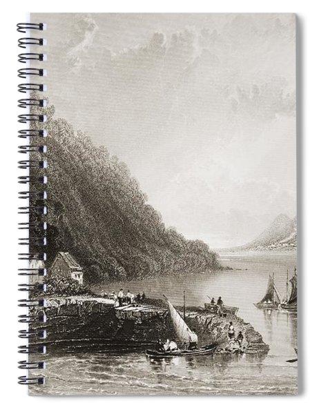 Ross Trevor Pier, Ireland. Drawn By Spiral Notebook