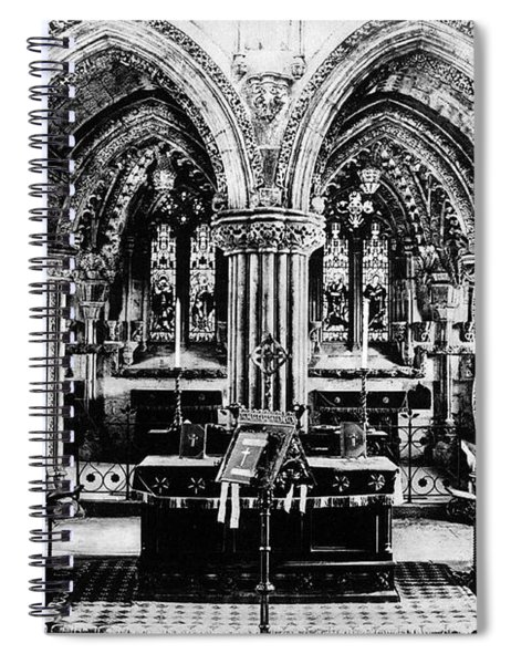 Rosslyn Chapel Nave Spiral Notebook