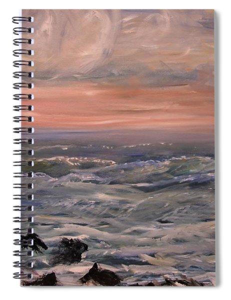 Rosy Dawn Spiral Notebook