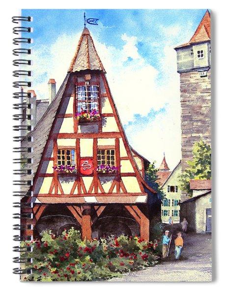 Rothenburg Memories Spiral Notebook