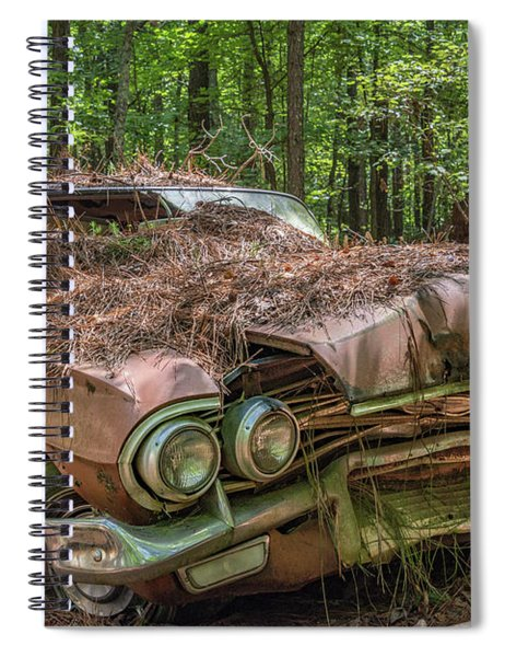 Rotting Classic In Color Spiral Notebook