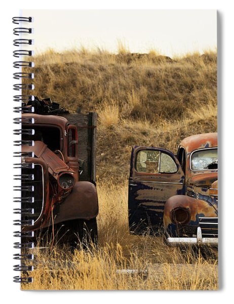 Rotting Jalopies Spiral Notebook