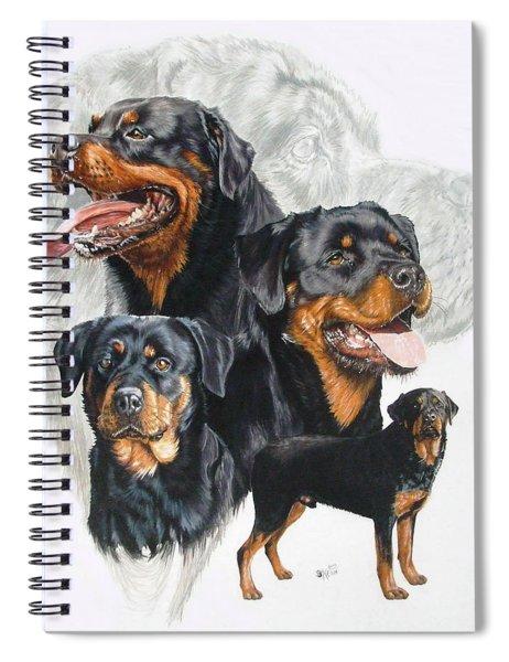 Rottweiler Medley Spiral Notebook