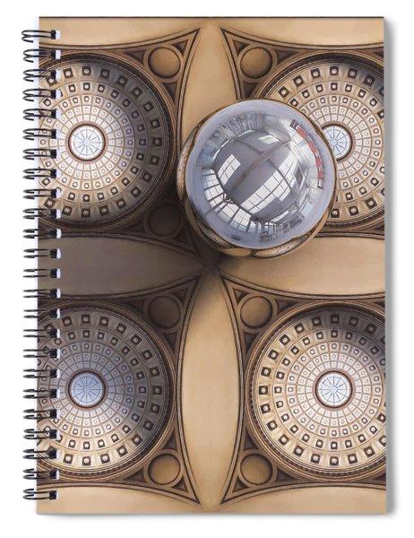 Rotunda 4 Ways Spiral Notebook