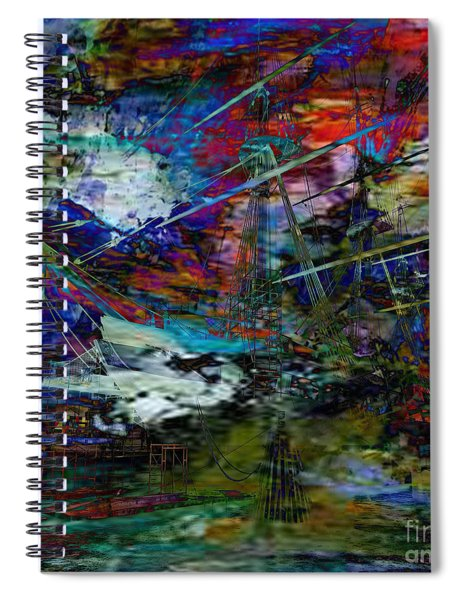 Rough Seas Ahead Spiral Notebook