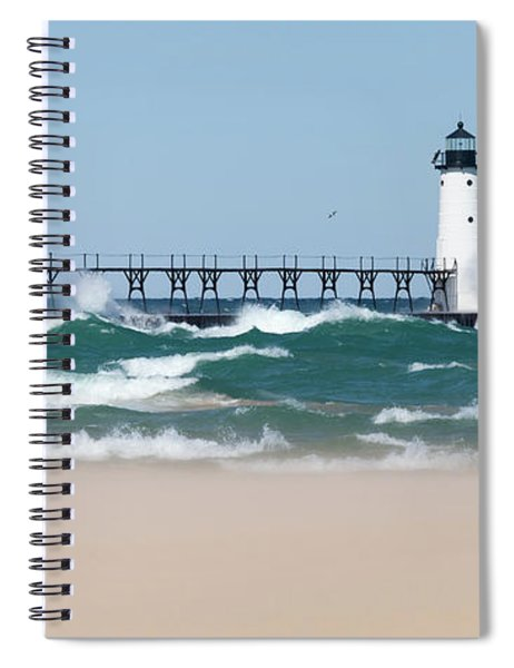 Rough Waters Spiral Notebook