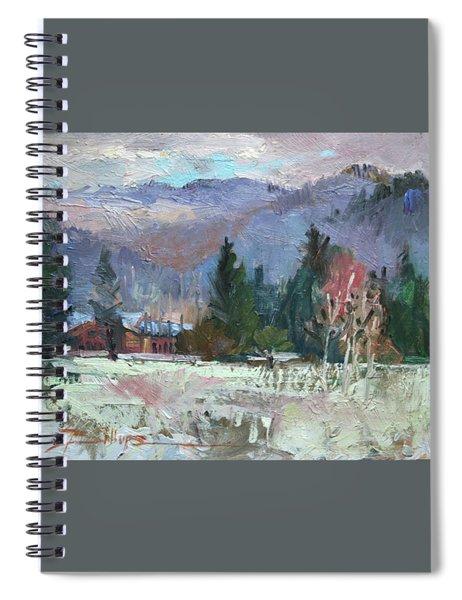 Rough Winter  Spiral Notebook