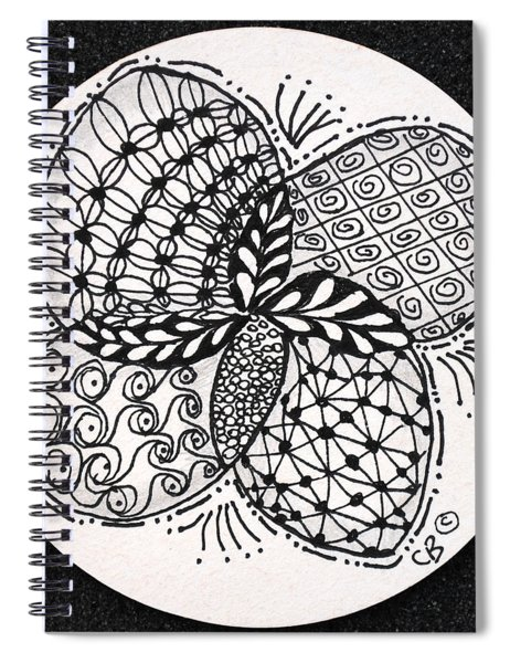 Round And Round Spiral Notebook