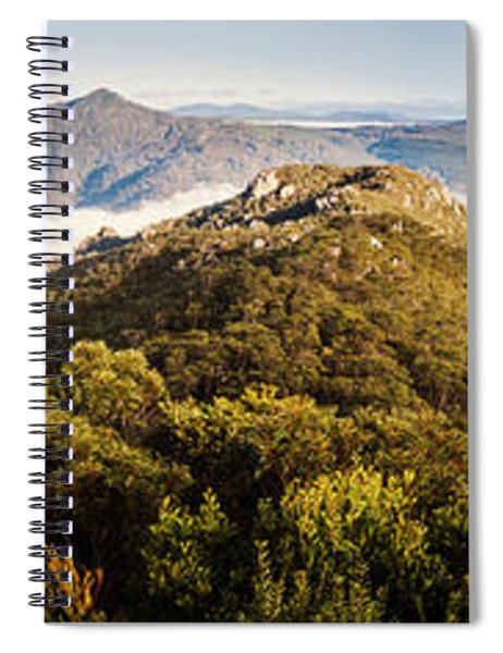 Round Mountain Lookout Spiral Notebook