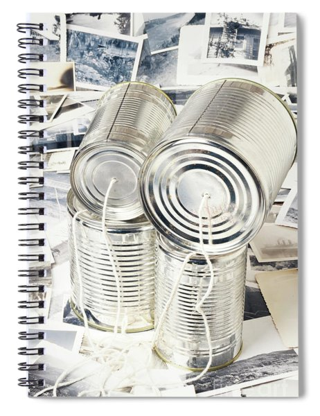Rounding Out Vintage Discourse Spiral Notebook