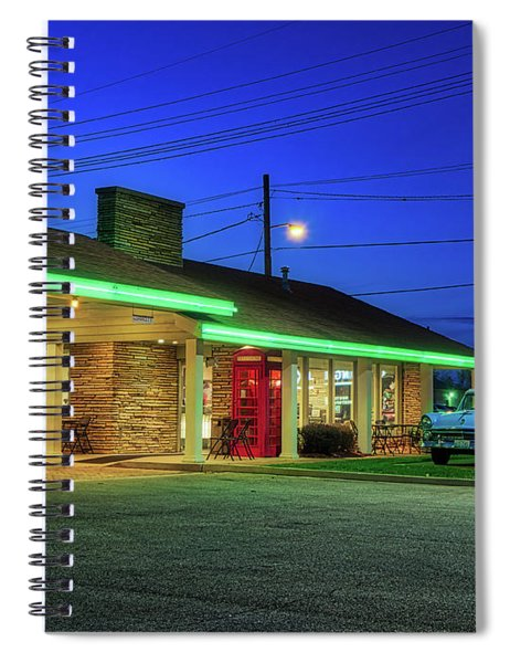 Route 66 Best Western Spiral Notebook