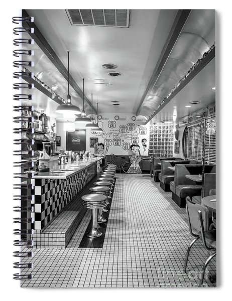 Route 66 Diner  Spiral Notebook
