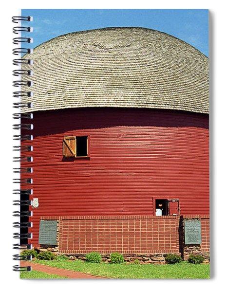 Route 66 - Round Barn Spiral Notebook