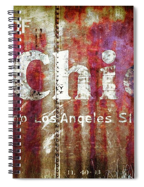 Route Of The Chief Spiral Notebook by Lou Novick