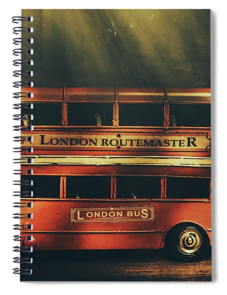 Routemaster Bus Station Spiral Notebook