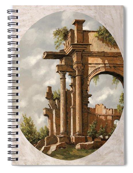 Rovine Romane Spiral Notebook