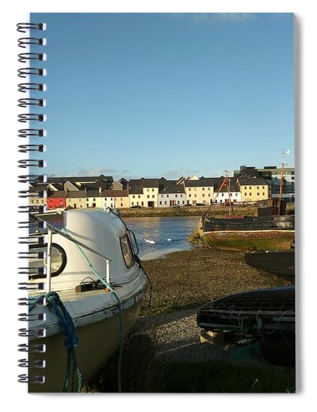 Row Houses In Galway Spiral Notebook