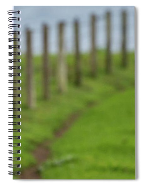 Row View  Spiral Notebook