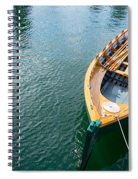 Rowboat Spiral Notebook