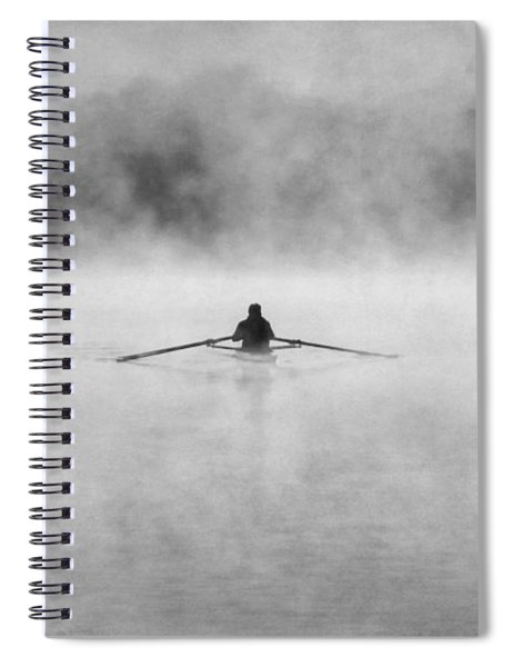 Rowing On The Chattahoochee Spiral Notebook