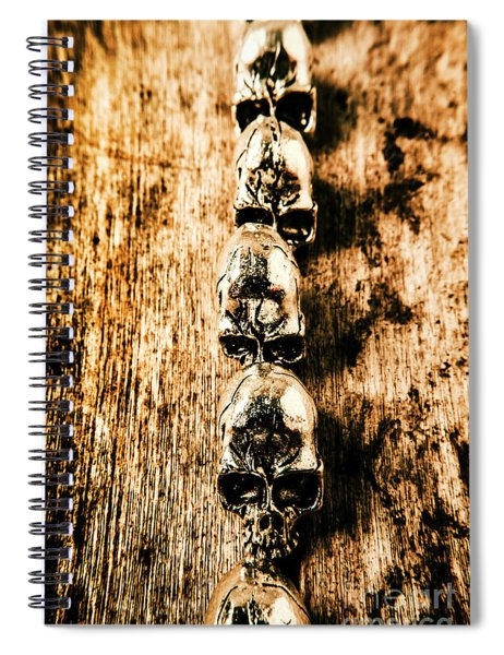Rowing Sculls Spiral Notebook