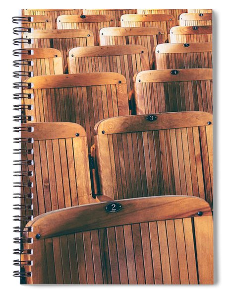 Rows Of Seats Spiral Notebook