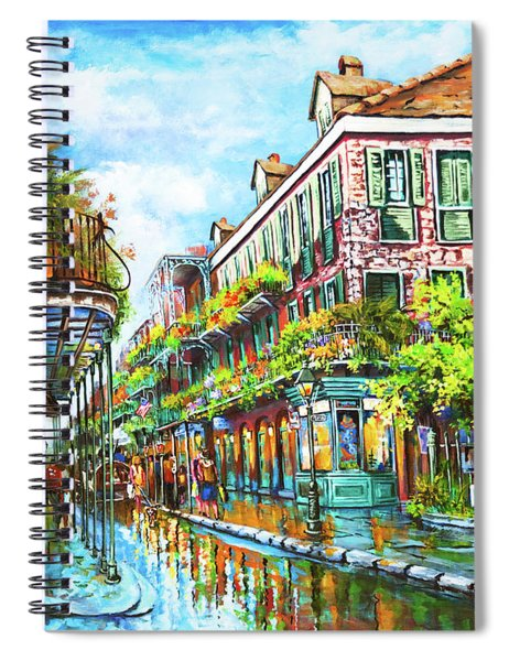 Royal At Pere Antoine Alley, New Orleans French Quarter Spiral Notebook
