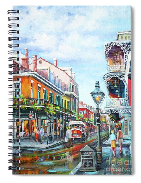 Royal Balconies Spiral Notebook