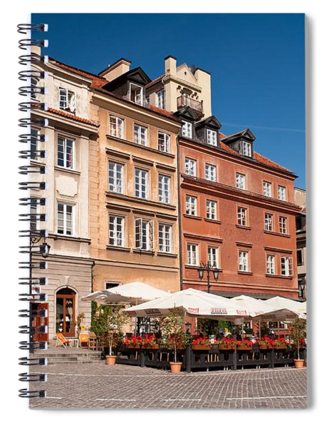 Royal Castle Square Architecture Spiral Notebook