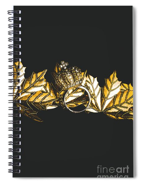 Royal Crown Jewels Spiral Notebook