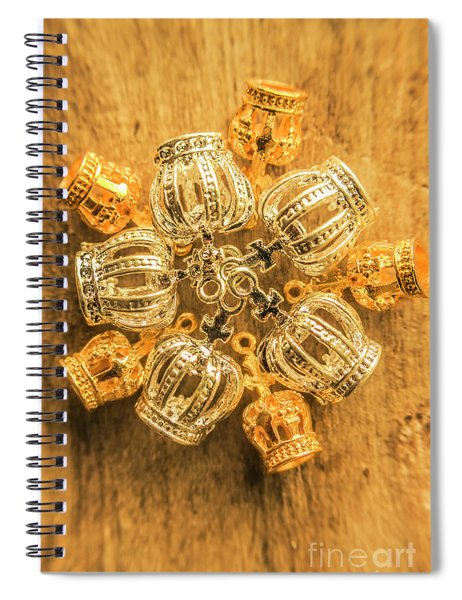 Royal Family Jewelry Spiral Notebook