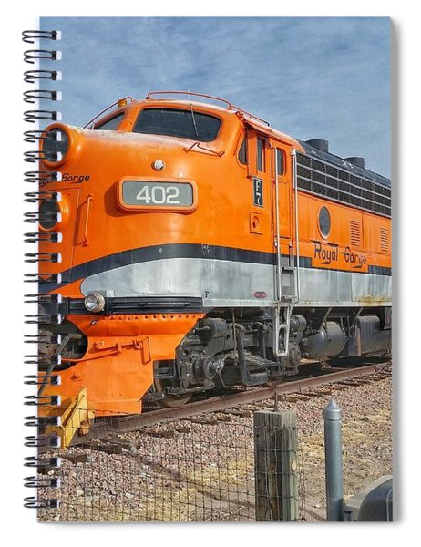 Royal Gorge Route 402 Spiral Notebook
