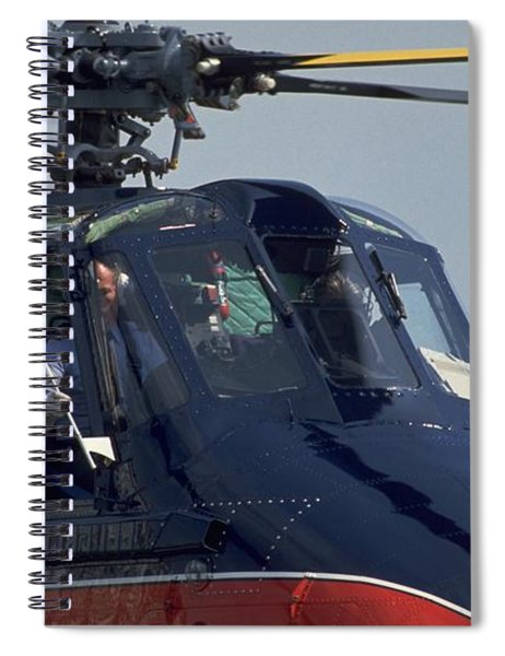 Royal Helicopter Spiral Notebook