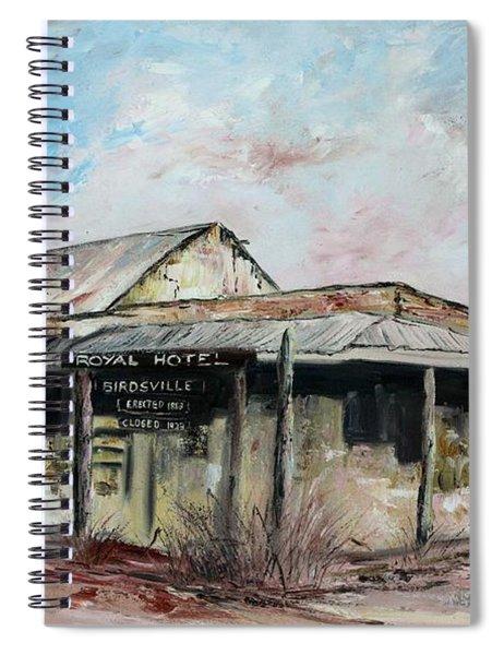 Royal Hotel, Birdsville Spiral Notebook