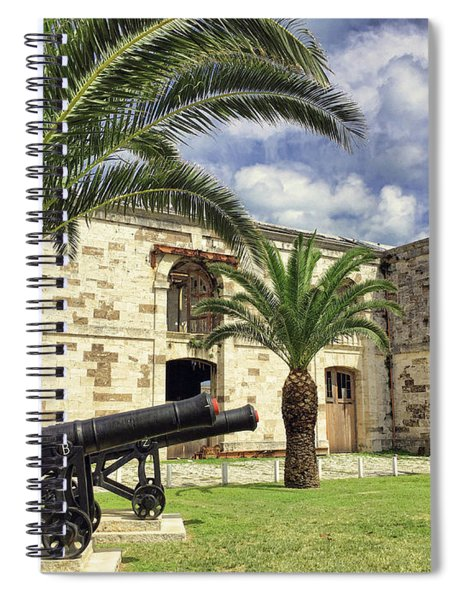 Royal Naval Dockyard Fort Spiral Notebook
